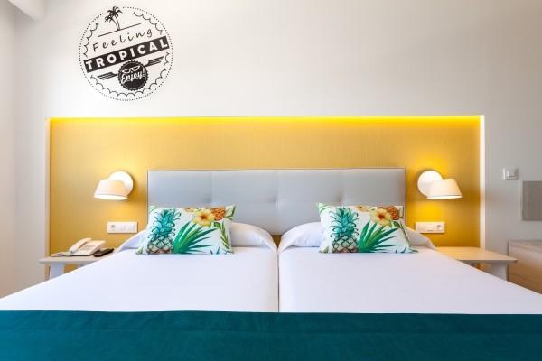 Chambre - Hôtel Tropical Park 4* Tenerife Canaries