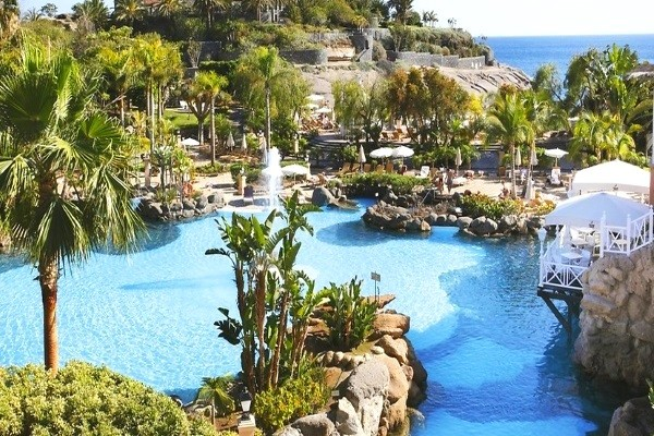 Piscine - Hôtel Bahia del Duque 5* Tenerife Canaries