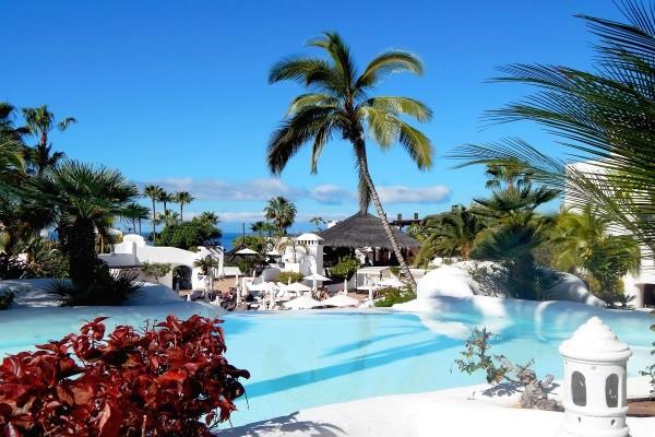 Piscine - Hôtel Jardin Tropical 4* Tenerife Canaries