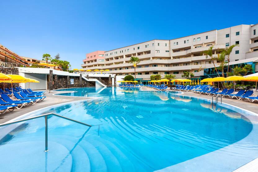 Piscine - Hôtel Turquesa Playa 4* Tenerife Canaries