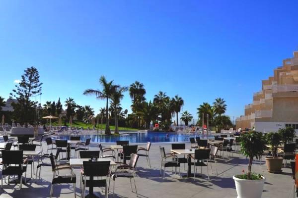 Terrasse - Hôtel Tropical Park 4* Tenerife Canaries