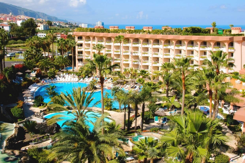 Vue panoramique - Hôtel Puerto Palace 4* Tenerife Canaries
