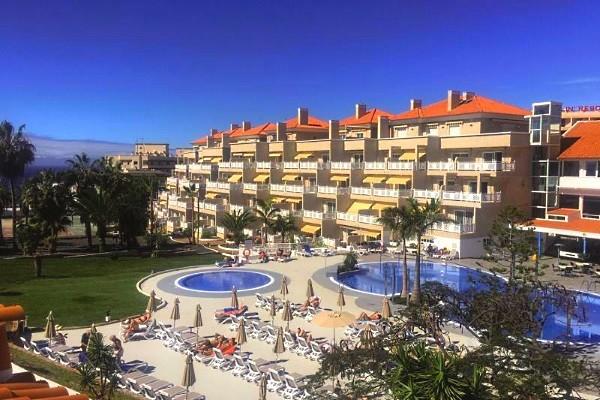 Vue panoramique - Hôtel Tropical Park 4* Tenerife Canaries