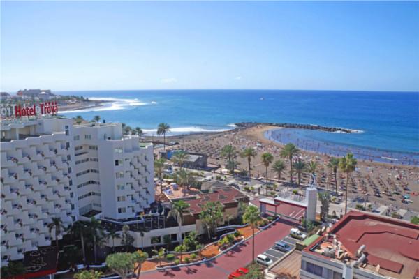 Vue panoramique - Hôtel Troya 4* Tenerife Canaries