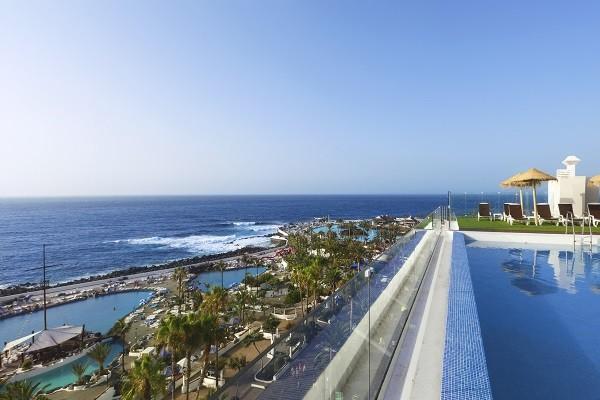 Vue panoramique - Hôtel Vallemar 4* Tenerife Canaries