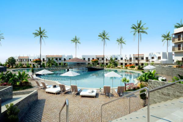 Piscine - Hôtel Melia Dunas Beach Resort 5* Ile de Sal Cap Vert