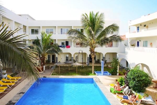 Piscine - Hôtel Pontao 3* Ile de Sal Cap Vert
