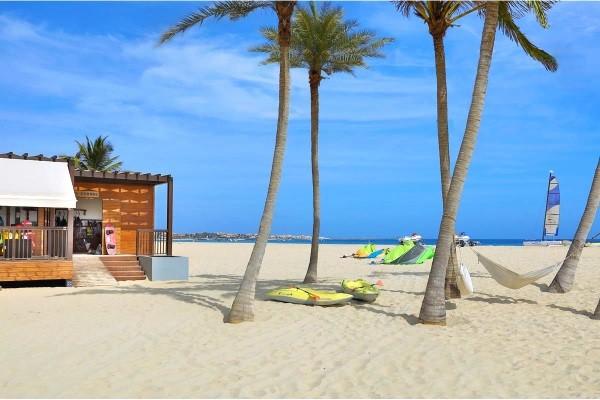 Plage - Hôtel Hilton Cabo Verde Resort 5* Ile de Sal Cap Vert