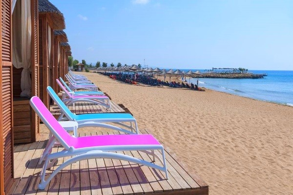Plage - Hôtel Noah's Ark Spa & Casino 5* Ercan Chypre
