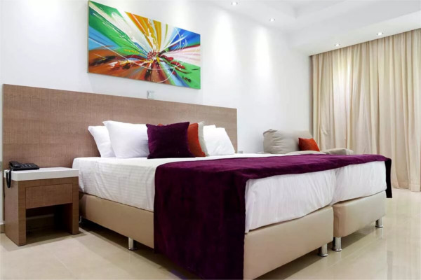 Chambre - Hôtel Amethyst Napa Hotel & Spa 3* Larnaca Chypre