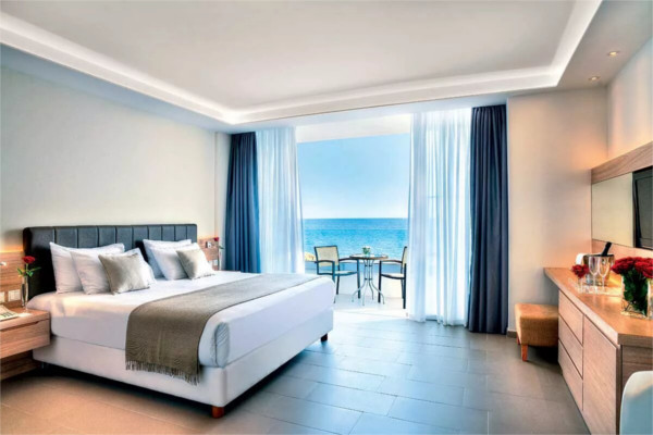 Chambre - Hôtel The Royal Apollonia 5* Larnaca Chypre