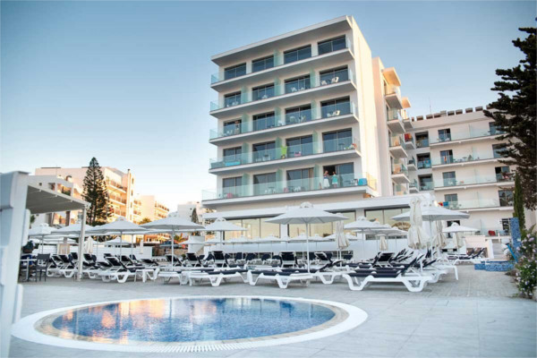 Piscine - Hôtel Mandali 3* Larnaca Chypre