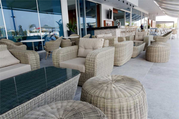 Terrasse - Hôtel Amethyst Napa Hotel & Spa 3* Larnaca Chypre