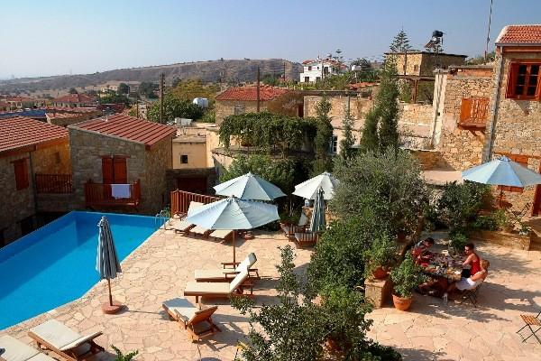 Vue panoramique - Hôtel Maisons traditionnelles Larnaca Chypre