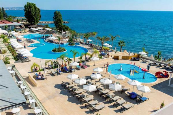 Vue panoramique - Hôtel The Royal Apollonia 5* Larnaca Chypre