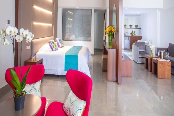 Chambre - Hôtel King Evelthon Beach & Resort 5* Paphos Chypre