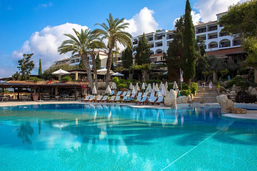 Piscine - Hôtel Coral Beach Hotel & Resort 5* Paphos Chypre