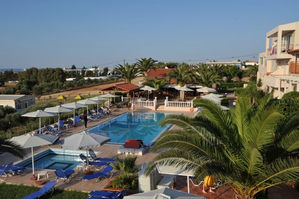Piscine - Hôtel Cretan Garden (sans transport) 3* Anissaras Crète