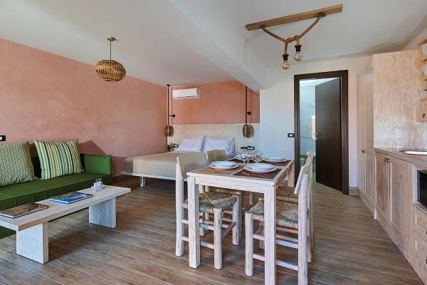 Chambre - Hôtel Esperides Villas & Spa 4* Heraklion Crète