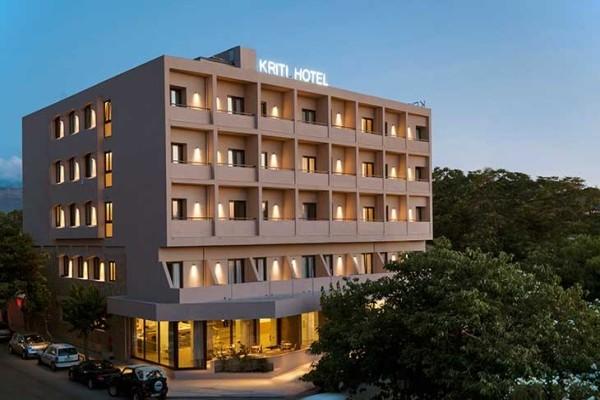 Facade - Hôtel Kriti 3* Heraklion Crète