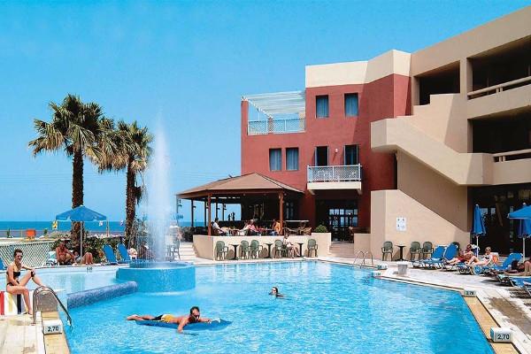 Facade - Hôtel Pearl Beach 4* Heraklion Crète