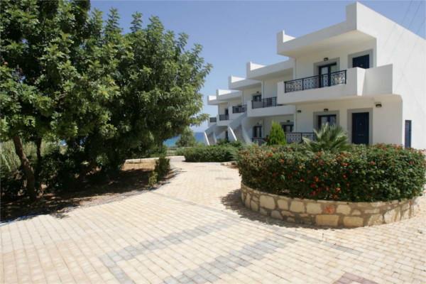 Facade - Hôtel Sea Side 3* Heraklion Crète