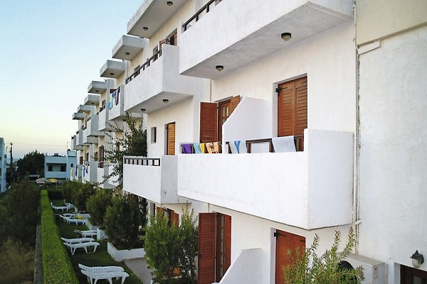 Facade - Hôtel Smartline Kyknos Beach 4* Heraklion Crète