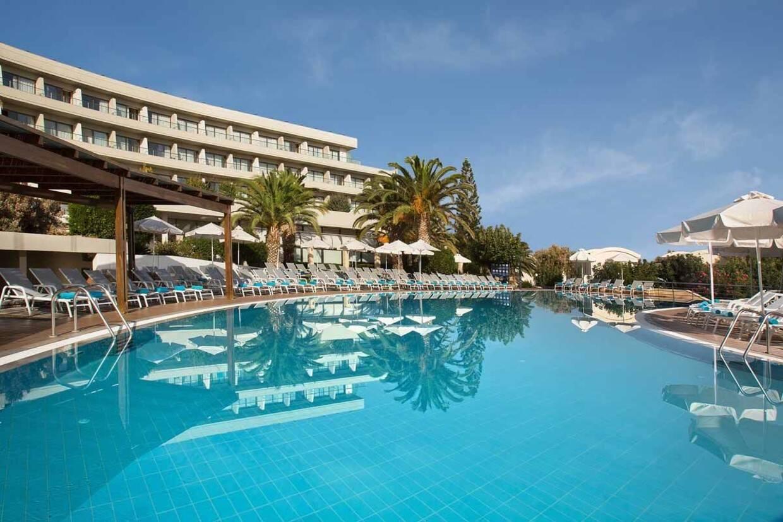 Piscine - Hôtel Agapi Beach Resort 4* Heraklion Crète