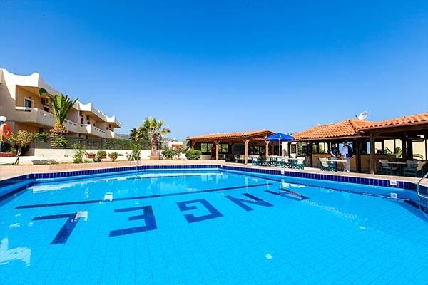 Piscine - Hôtel Angel Village 3* Heraklion Crète