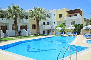 Crète - Heraklion, Hôtel Angelika 3*