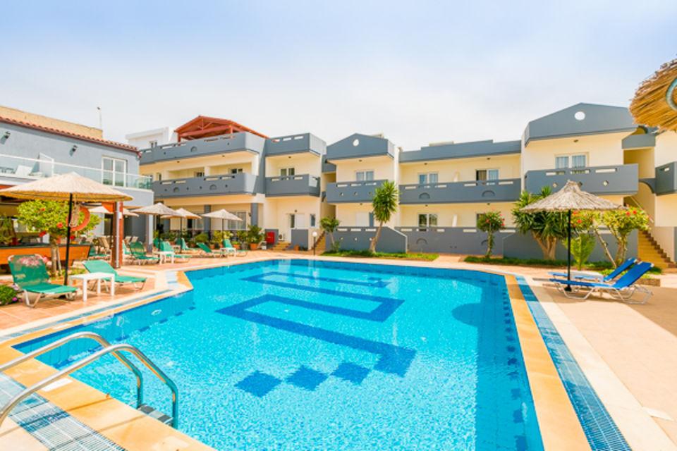 Hôtel Anthoula Village Hersonissos Crète