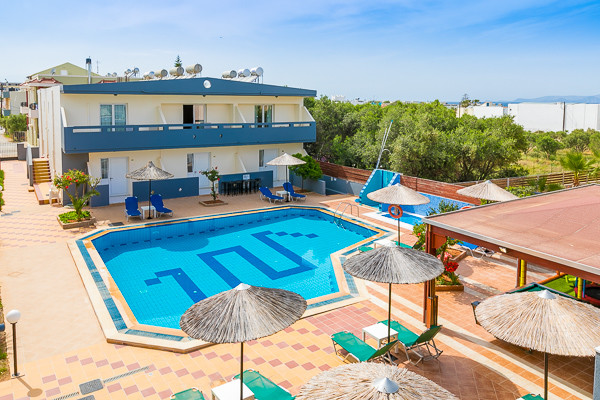 Piscine - Hôtel Anthoula Village 4* Heraklion Crète
