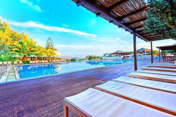 Piscine - Apollonia Beach Resort And Spa 5* Heraklion Crète