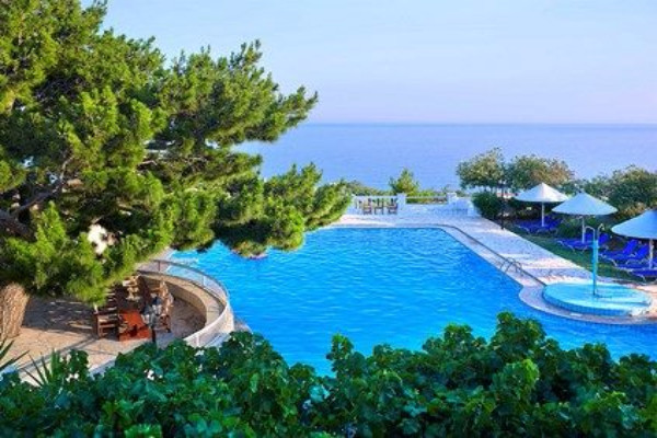 Piscine - Hôtel Aroma Creta 3* Heraklion Crète