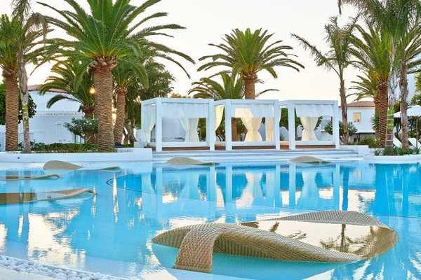 Piscine - Hôtel Caramel Boutique Resort 5* Heraklion Crète