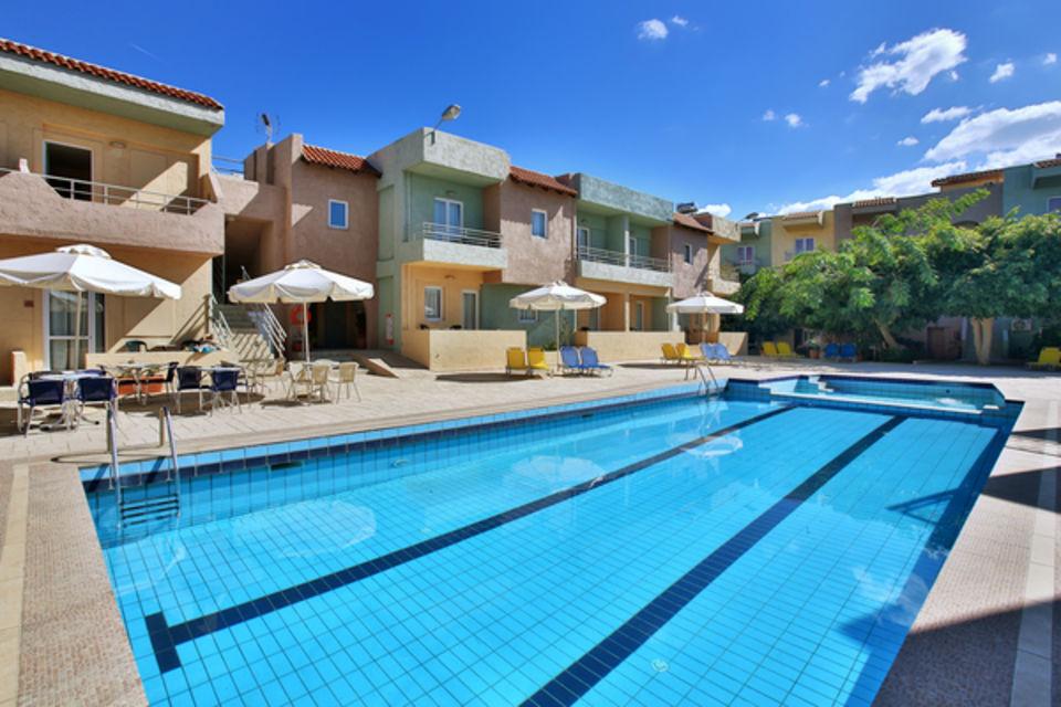 Hôtel Cosman Aparthotel Heraklion Crète
