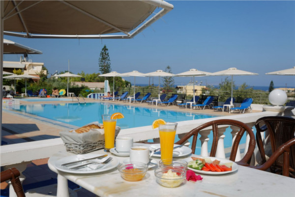 Piscine - Hôtel Cretan Garden 3* Heraklion Crète