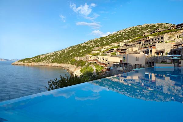 Piscine - Hôtel Daios Cove Resort and Luxury Villas 5* Luxe Heraklion Crète