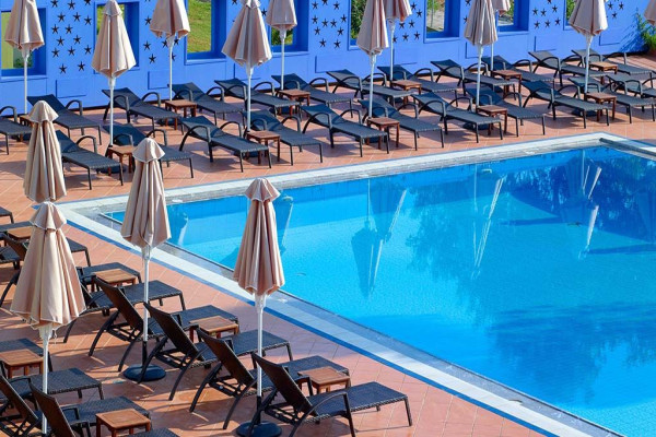Piscine - Hôtel Eliros Mare 4* sup Georgioupolis Crète