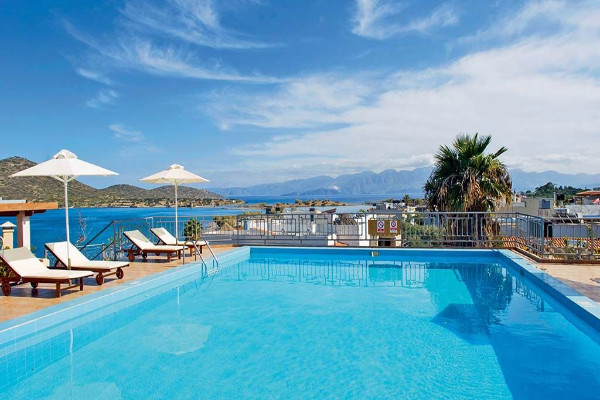 Piscine - Hôtel Elounda Akti Olous 4* Heraklion Crète