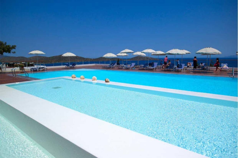 Piscine - Hôtel Elounda Ilion 4* Heraklion Crète