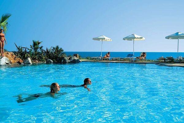 Piscine - Hôtel Grecotel Marine Palace 4* Panormo Crète