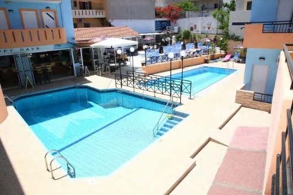 Piscine - Hôtel Happy Days Studios 3* Heraklion Crète