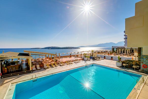 Piscine - Hermes Hotel 4* Heraklion Crète