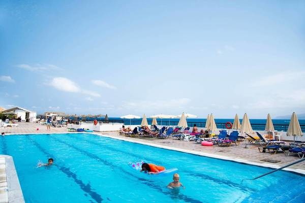 Piscine - Hôtel Horizon Beach 3* sup Heraklion Crète