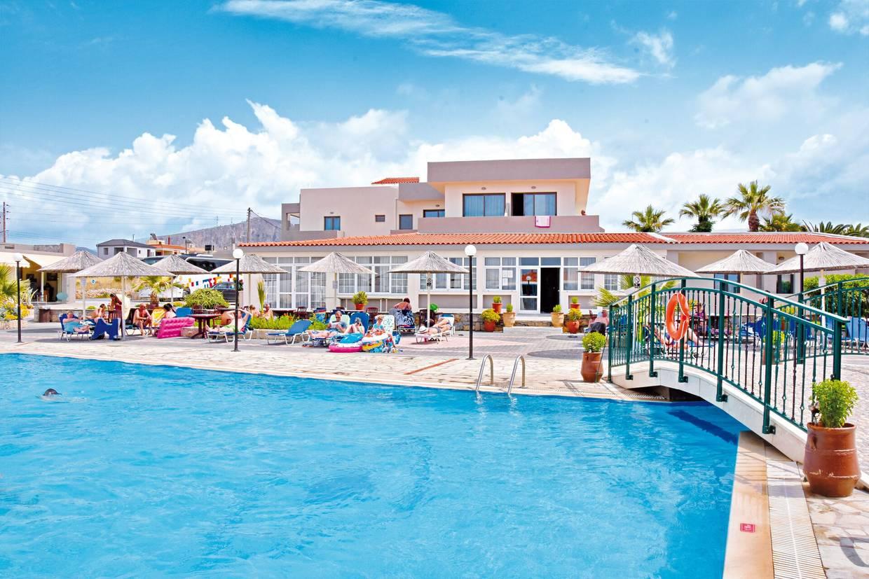 Piscine - Hôtel Kalia Beach 4* Heraklion Crète
