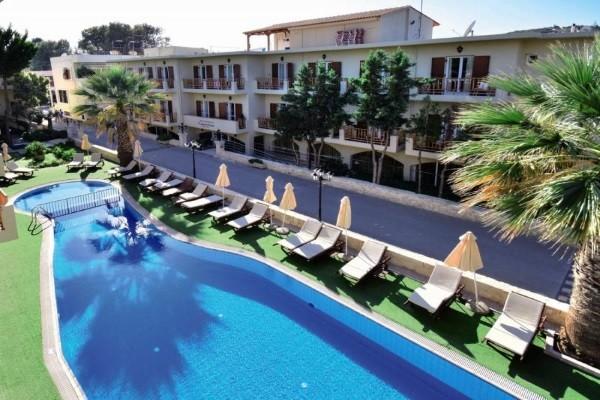 Piscine - Hôtel Kalyves Beach 4* Heraklion Crète
