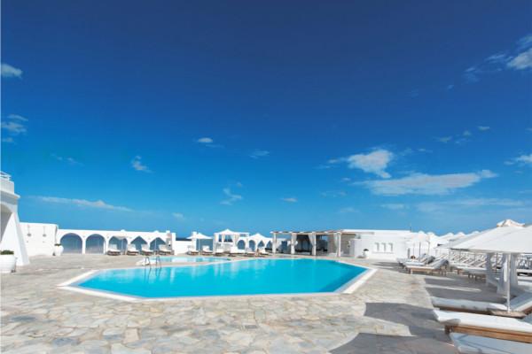 Piscine - Hôtel Knossos Beach Bungalows & Suites 5* Heraklion Crète