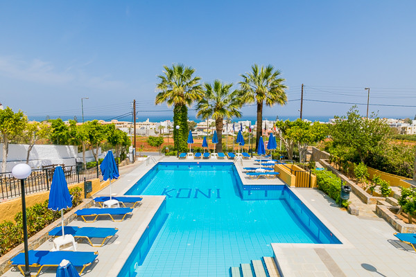 Piscine - Koni Village 3* Heraklion Crète
