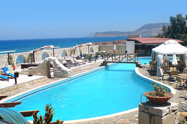 Piscine - Hôtel Lassion Golden Bay 3* Heraklion Crète